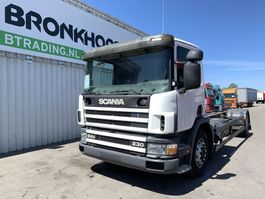 chassis cab truck Scania P94D 230 Chassis - Euro 2/Manual injector - 5097 2003