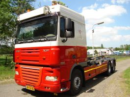container truck DAF FAS XF105 2009