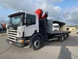 drop side truck Scania L 2000