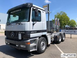 cab over engine Mercedes Benz Actros 2643 German truck - EPS 3 pedals - Hydraulics 2001