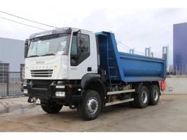 tipper truck > 7.5 t Iveco TRAKKER 380T35 - 6x6 2006