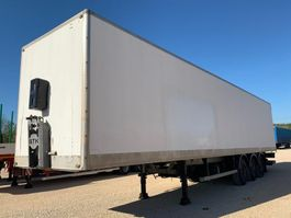 closed box semi trailer Kaiser Semi reboque 2003