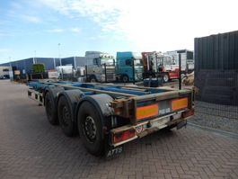 container chassis semi trailer Renders ROC 12.27 CC / MB DISC / Extendable on the back 2003