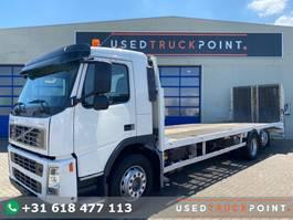 car transporter truck Volvo FM300 / 6X2 / Machine Transport / Ramps & Winch / Belgium Truck 2004