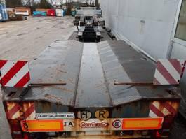 lowloader semi trailer Nooteboom 3 asser 48-03 eurodieplader extra bed 2001