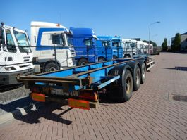 container chassis semi trailer Renders ROC 12.27 CC / BPW Drum / 2x 20 FT and 1x 40 FT 2003