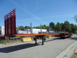 flatbed semi trailer Broshuis 31N0-EU 2006