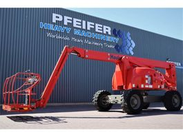 articulated boom lift wheeled Haulotte HA20PX Diesel, 4x4x4 Drive, 20.65m Working Height, 2007