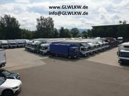 Koffer Transporter < 7.5 tonnen Mercedes Benz ATEGO IV 818 L Koffer 6,10 m LBW 1 to. 49 tkm 2017