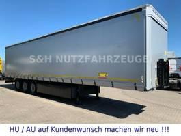 sliding curtain semi trailer Kögel SN 24 SAF Achsen Liftachse XL Code Edscha 2017