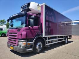refrigerated truck Scania P 230 4x2 Dagcabine Euro4 - Carrier 950MT - Vriesbak 760cm - Dubbele ver... 2008