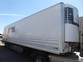 refrigerated semi trailer Krone Thermo king SL 400, TUV 10/2020, 270 Hoch, ALu boden, Blumenbreit, LBW P... 2008