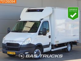refrigerated closed box lcv Iveco Daily  50C17 3.0 Koelwagen -20 Vries Luchtvering 230V Airco Cruise 14m3 ... 2014
