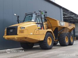 articulated dump truck Caterpillar 730C II 2016