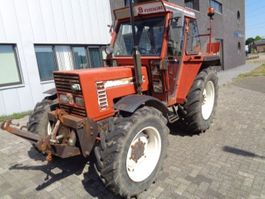 farm tractor Fiat 6588 dt 1991