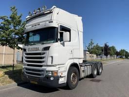 ciągnik siodłowy do ciężkich warunków pracy Scania R620 6X4 RETARDER 2010