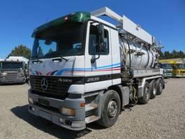 vacuum truck Mercedes Benz Actros 2535 8x2*6 Helmers 12300 L 2003