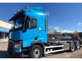 swap body truck Renault T520, 6x2 Gearbox i-Shift, Euro 6, BDF-Chassi, 2016 2015