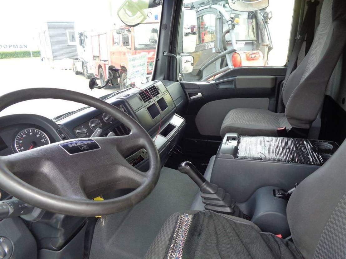 closed box truck > 7.5 t MAN TGL 12.180 + Manual + Dhollandia 2009