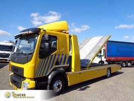 car transporter truck Volvo FL 210 + Pto + Euro 6 2014