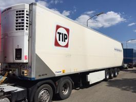 refrigerated semi trailer Krone SDR 27 thermo king  bloemenmaat dubbelstock 2006