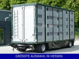 livestock trailer Pezzaioli Menke 3 Stock Lüfter el. Hydraulik €699.-mtl. 2007