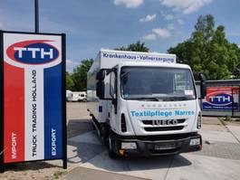 closed box truck > 7.5 t Iveco ML80E18/P Eurocargo | Box + taillift | Euro5 EEV | German Truck 2014