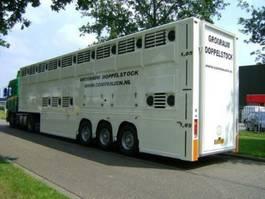 Viehauflieger Gray and Adams Doppelstock Companjen Cattle Carrier 2007