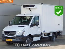 refrigerated closed box lcv Mercedes Benz Sprinter  513 CDI Automaat Koelwagen -15C Vries 230V Laadklep 13m3 2016