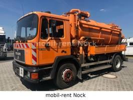 vacuum truck MAN 18.222/Tollense TE2-3244