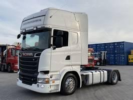 mega-volume tractorhead Scania R500 V8, MEB, LOW DECK, MEGA, topline 2012