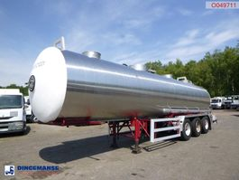tank semi trailer semi trailer Magyar Chemicals tank 30 m3 / 1 comp 1989