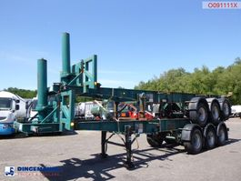 container chassis semi trailer Tinsley Stack - 2 x 3-axle container trailer (tipping) 1991