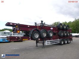 container chassis semi trailer Dennison Stack - 4 x container trailer 40 ft 2005
