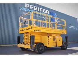 scissor lift wheeld Haulotte H15SX Diesel, 4x4 Drive,15m Working Height, Rough 2008