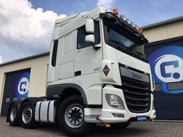 cab over engine DAF XF FTG 6x2 460Pk Euro 6 MANUAL Gearbox ! Very good condition 2015