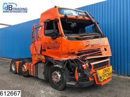 cab over engine Volvo FH13 500 6X2, EURO 5, Airco, Hub reduction, Damaged truck 2012
