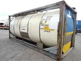 Tankcontainer Van Hool SALE: 15 X 20FT, 23.000- 24.000L,  YOB:1995-1999, valid inspection 1995