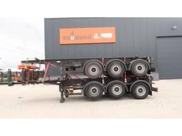container chassis semi trailer Van Hool Paket von 2x 20FT 8.40m Chassis, 3-Achsen, Leergewicht: 3.300kg, SAF INT... 2005