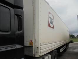 closed box semi trailer Van Hool 3B2014 2007