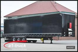 mega-volume semi trailer Krone SD, Tautliner, Mega, neue Plane, 2013
