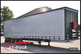 mega-volume semi trailer Krone SD, Tautliner, Mega, neue Plane 2013