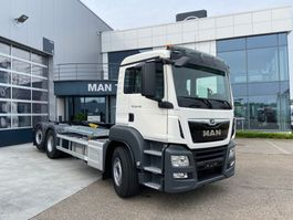 container truck MAN TGS 26.430 6x2-4 BL-M Palfinger containerhaak 2020