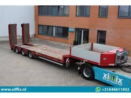semi lowloader semi trailer Doll 3-ass. Semi dieplader met dubbele hydr. Kleppen 2011