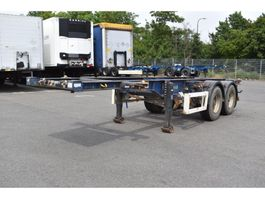 container chassis semi trailer Krone SZF 18 C 1998