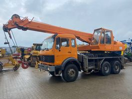 all terrain cranes Mercedes-Benz 2626 v8 + Gottwald 20ton crane TOP CONDITION! 1979