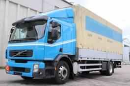 sliding curtain truck Volvo FE340  Euro5 Manuell Klima LBW 2012