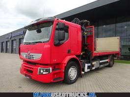 Wechselbrücken-LKW Renault Premium 370 Afzetsysteem + Palfinger 14080 kraan 2008