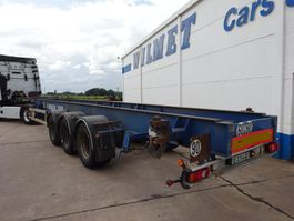 container chassis semi trailer ASCA CHASSITAINER - 3 ASSEN - 40-45