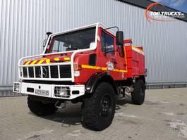 fire truck Unimog Mercedes Benz Unimog U1550 L320, SIDES CCF2000 ltr. feuerwehr - fire bri... 1997